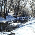 Boulder Creek After A Snowstorm by NaturesPix