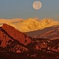Boulder Moonrise by Marta Robin Gaughen