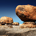 Boulder On Solid Rock by Johan Swanepoel
