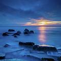 Boulder Point Sunrise by Randy Kostichka