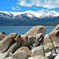 Boulder Shore Lake Tahoe by Frank Wilson