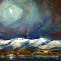 Boulder Winter Night by Ugljesa Janjic