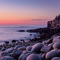 Boulders At Dawn by Michael Blanchette