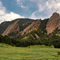 Boulder's Flatirons by Philip Rodgers