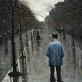 Boulevard Des Batignolles by Mark Carlson
