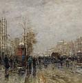 Boulevard Des Capucines by Wilhelm Von