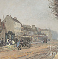 Boulevard H?lo?se, Argenteuil by Alfred Sisley
