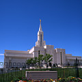 Bountiful Utah Temple by Troy Montemayor