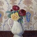 Bouquet De Roses Dans Un Vase 1885 by DuboisPillet Albert
