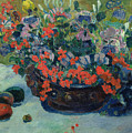 Bouquet Of Flowers by Paul Gauguin