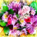 Bouquet Of Purple by Francesa Miller