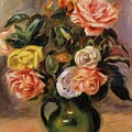 Bouquet Of Roses 2 by Renoir PierreAuguste