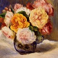 Bouquet Of Roses by Renoir PierreAuguste