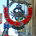 Bourbon House Signage by Robert Meyers-Lussier