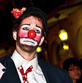 Bourbon Street Clown Mime by Kathleen K Parker