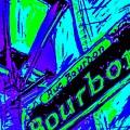 Bourbon Street In Blue by Paula Baker