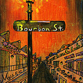 Bourbon Street Lamp Post by Catherine Wilson