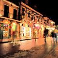 Bourbon Street New Orleans by Thomas R Fletcher