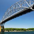 Bourne Bridge  Cape Cod by Mark Wiley