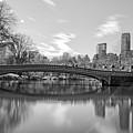 bow bridge central park N Y C by Nick Difi