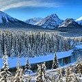 Bow River Valley View by Adam Jewell