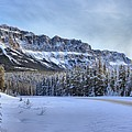 Bow Valley Castle Cliffs by Adam Jewell