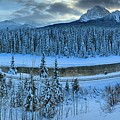 Bow Valley River Giant Panorama by Adam Jewell