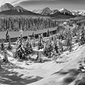 Morant's Curve Black And White by Adam Jewell
