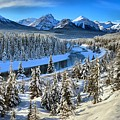 Bow Valley Winter View by Adam Jewell