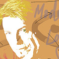 Bowie Modern Love  by Enki Art