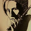 Bowie's Got A Gun by Brenda Salamone