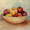Bowl Of Apples by Arline Wagner