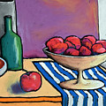 Bowl Of Apples by David Hinds