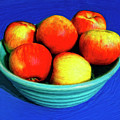 Bowl Of Apples by Dominic Piperata