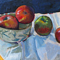 Bowl Of Apples by Robert Bissett