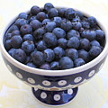Bowl Of Blueberries by Carol Groenen
