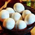 Bowl Of Eggs by Susan Savad