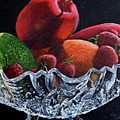 Bowl Of Fruit by Lorraine Vatcher