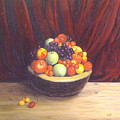 Bowl Of Fruits by Srilata Ranganathan