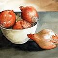 Bowl Of Onions by Paul Dene Marlor