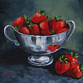 Bowl Of Strawberries  by Torrie Smiley