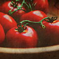 Bowl Of Tomatoes by Toni Hopper