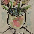 Bowl Vase by Edward Wolverton