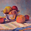 Bowl With Fruit by Keith Burgess