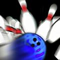Bowling Sign 2 - Strike  by Steve Ohlsen