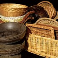 Bowls And Baskets by RC DeWinter