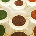 Bowls Of Spices - India by Bill Bachmann - Printscapes