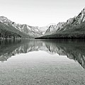 Bowman Lake - Glacier National Park 2 by Linda Richardson
