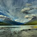 Bowman Lake Montana by Adam Jewell