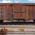 Boxcar On The Colorado Central by Gordon Elwell